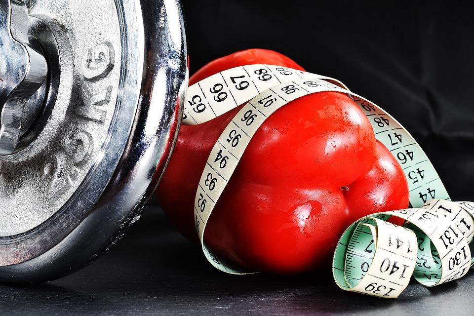 fitness, paprika, meter