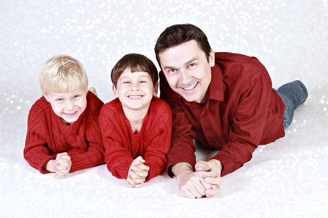 otec a děti
