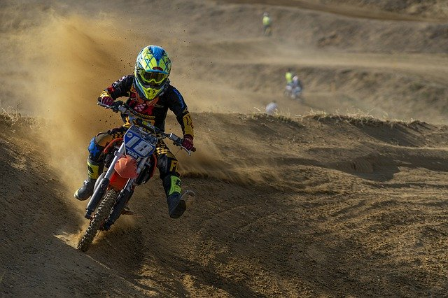 motocross jazdec
